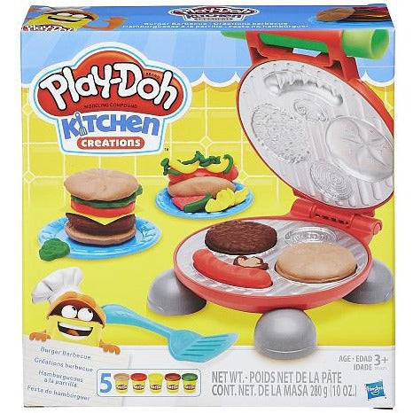 Play-Doh Burger Barbecue Playset