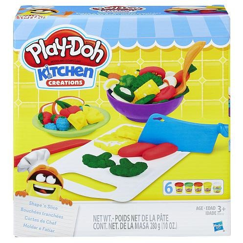Play-Doh Kitchen Creations Shape 'n Slice Set