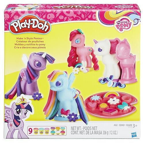 Play-Doh My Little Pony Make 'N Style Ponies Craft Kit