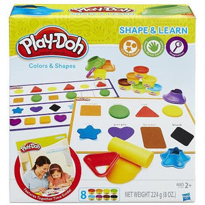 Play-Doh Shape and Learn Colors and Shapes Playset