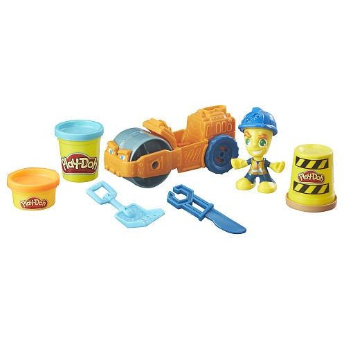 Play-Doh Town Steamroller Playset