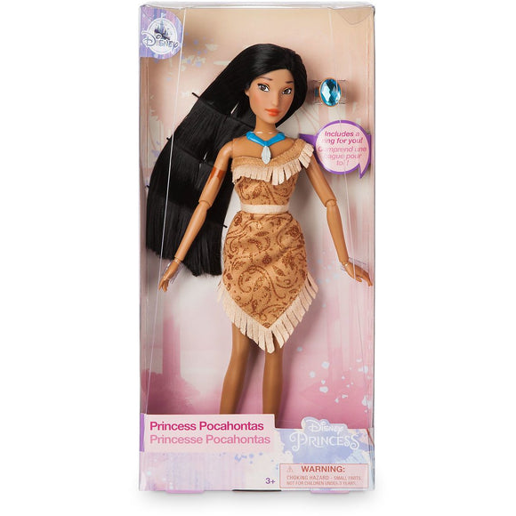 Pocahontas Classic Doll with Ring - 11 1/2''
