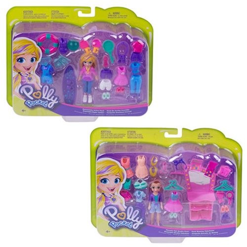 Mattel Polly Pocket Fashion Doll 2 Variants (Sold Separately)