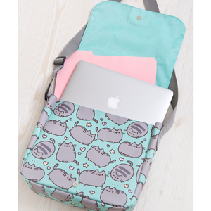 Pusheen The Cat Print Messenger Bag