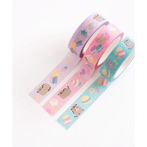 Pusheen The Cat Printed Tape Trio
