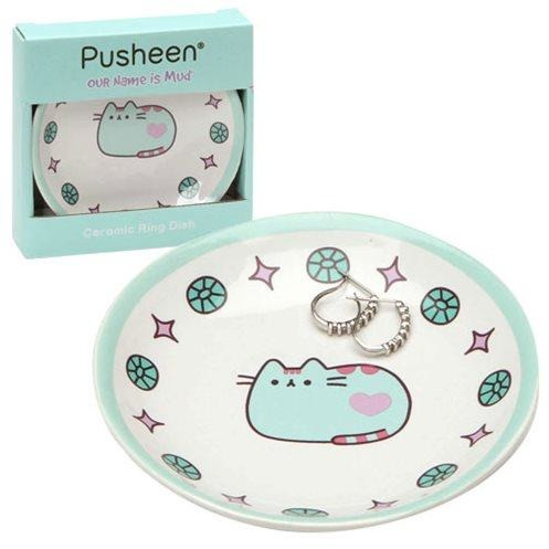 Pusheen the Cat Teal Trinket Tray