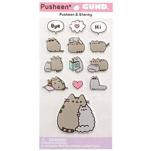 Pusheen the Cat Pusheen and Stormy Stickers