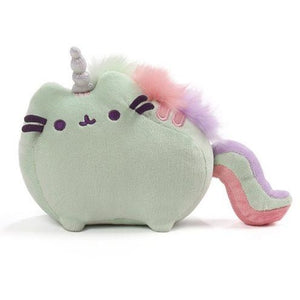 Pusheen the Cat Pusheenicorn Sound Toy Green Plush