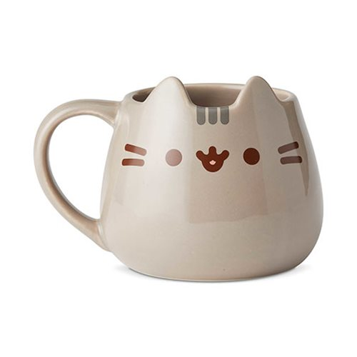 Pusheen the Cat Sculpted 16 oz. Mug