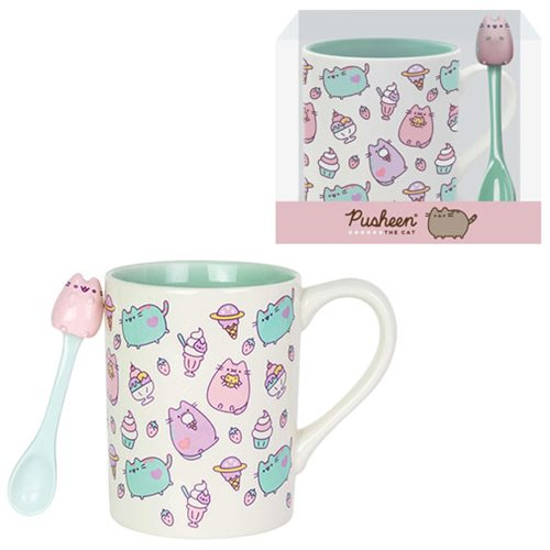 Pusheen the Cat Sweets Mug with Spoon