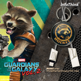Guardians Of The Galaxy - ROCKET iPhone/iPad Sync Cable