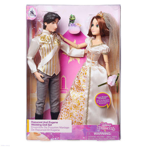 Rapunzel and Eugene Classic Wedding Doll Set - Tangled Ever After