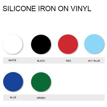 Silicone 3D Iron On Vinyl Generic