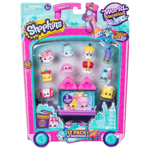 Shopkins World Vacation Europe -12 Pack