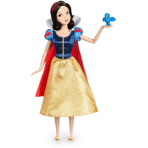Snow White Classic Doll with Bluebird Figure - 11