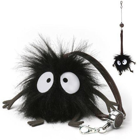 Spirited Away Soot Sprite Handbag Reel Key Holder