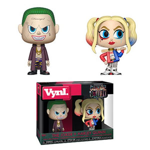 Suicide Squad Joker and Harley Quinn Vynl Funko Figure 2-Pack