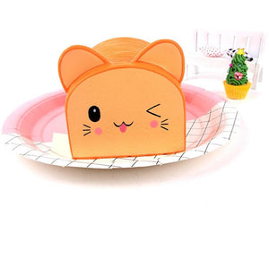 Super Slow Rise Cat Bread Scented Squishy