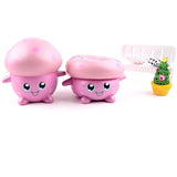 "Super Slow Rise Pink ""I Love Mushroom"" Scented Squishy"