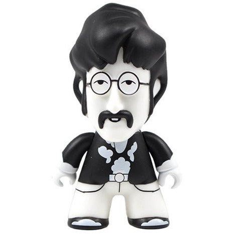 The Beatles Black and White John 4 1/2-Inch Titans Vinyl Figure