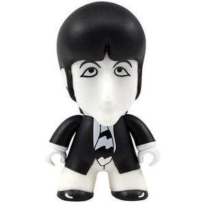 The Beatles Black and White Paul 4 1/2-Inch Titans Vinyl Figure