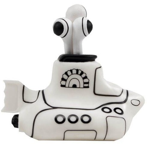 The Beatles Black and White Submarine 4 1/2-Inch Titans Vinyl Figure