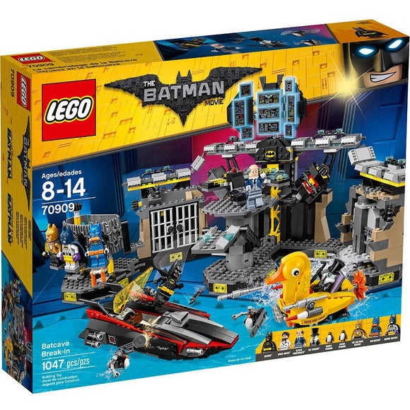 The LEGO Batman Movie - Batcave Break-in (70909)