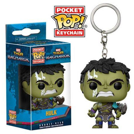 Thor Ragnarok Hulk Pocket Pop! Key Chain