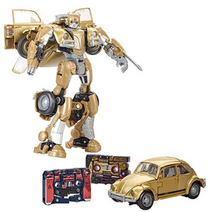 Transformers Studio Series Deluxe Bumblebee with G1 Tapes