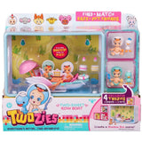 Twozies Two-Sweet Row Boat Playset