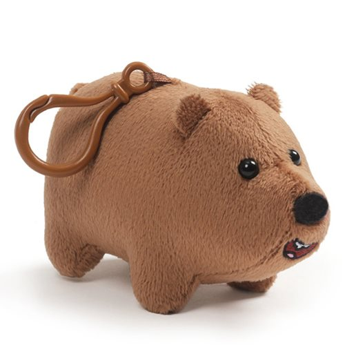 Gund We Bare Bears Grizz Clip-On Backpack Plush