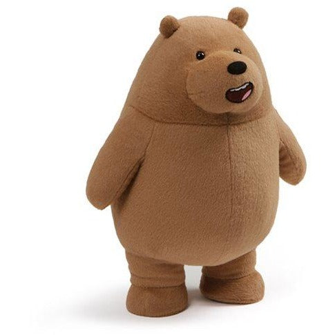 We Bare Bears Grizz Standing 11-Inch Plush