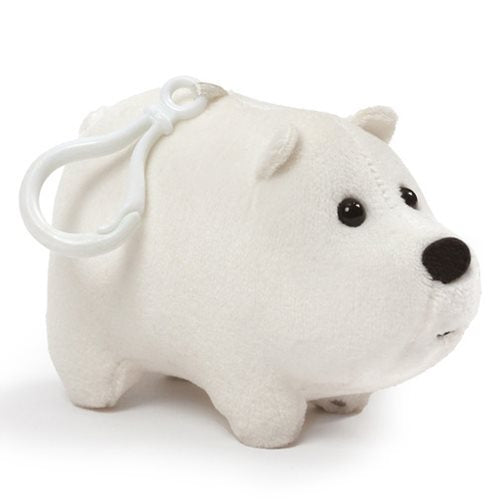 Gund We Bare Bears Ice Bear Clip-On Backpack Plush