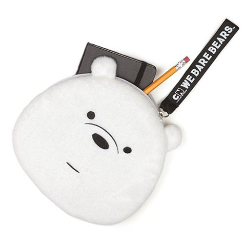We Bare Bears Ice Bear Deluxe Zipper Pouch