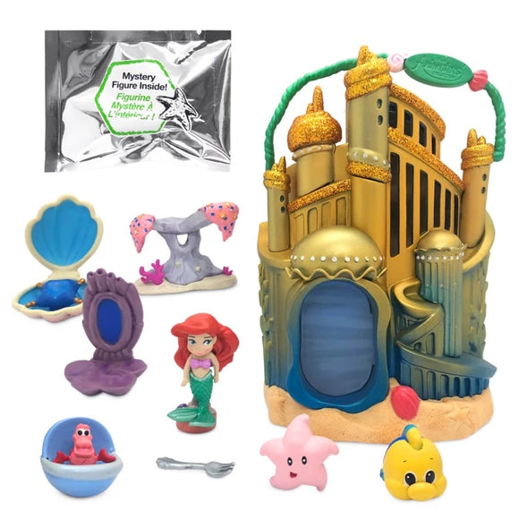 Disney Animators' Collection Littles Ariel Palace Play Set – The Little Mermaid