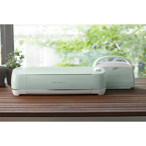 Cricut Explore Air 2™ Mint + Cricut Cuttlebug™ Mint Machine