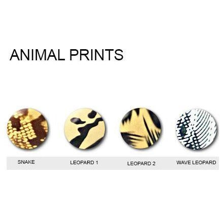 Animal Print Iron On Vinyl Generic