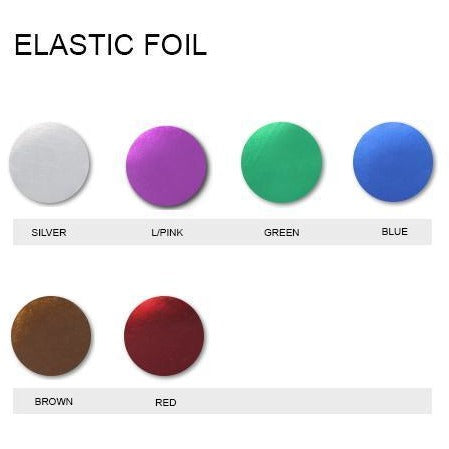 Elastic Foil Iron On Vinyl Generic