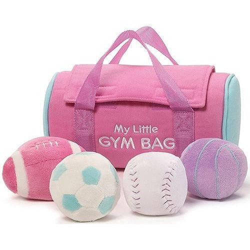 My Little Gym Bag Stuffed Playset