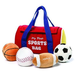 My 1st Sportsbag 3.5 IN Stuffed Playset