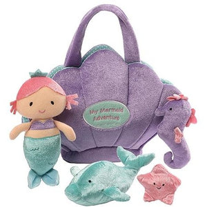 Mermaid Adventure Stuffed Playset