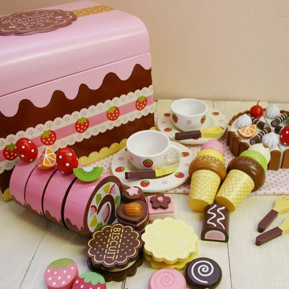 Mother Garden New Wooden Chocolate Party Set (FOR PRE-ORDER ONLY)