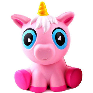Super Slow Rise Pink Unicorn Scented  Squishy