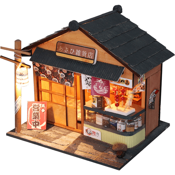 Chaoyang Grocery Store DIY Miniature Dollhouse