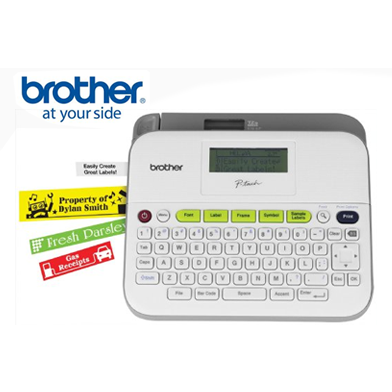 Brother PTouch D400AD Versatile Labelling Maker