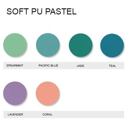 Soft PU Pastel Iron On Vinyl Generic