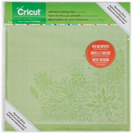 Cricut® Standard Grip Adhesive Cutting Mats 12x12 - 2-pack