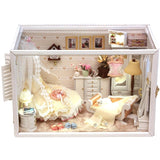 Perfect Flower Married DIY Miniature Dollhouse