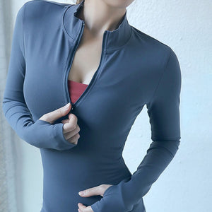 Long Sleeved Fitness Top