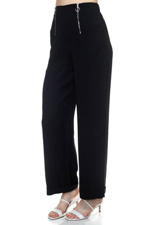 Double Zipper Up Pants
